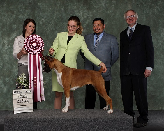 Best Overall Jr. Handling Reserve- May 2014