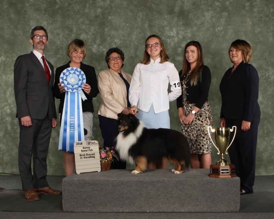Caroline and Coal, a panel of Judges and coveted big blue rosette.